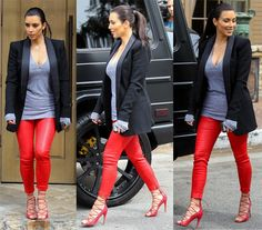 10 Outfits that will Have You Reaching for Your Leather Pants Right Now!