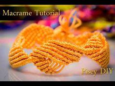 Macramé Diamond Leaf bracelet Macrame Tutorial /Friendship Bracelets / Projects - YouTube