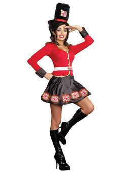 Discover an incredible selection of costumes for women at Party City. Get the latest female costume looks from TV and film, Halloween classics, DIY kits and more. Costumes For Sale, Cool Costumes, Costumes For Women, Costume Party Themes, Halloween Costume Shop, Halloween 2013, Spooky Halloween, Halloween Decorations, British Costume