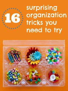 Great ideas! 16 surprising new organization tricks you need to try