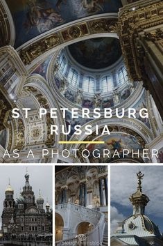 St Petersburg Russia - 3 Days Perfect Itinerary for Photographers Photography Articles, Travel Photography, Travel Pictures, Cool Pictures, Walks In London, St Petersburg Russia, City Break, Cool Places To Visit, Travel Inspiration