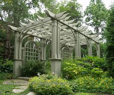 Who doesn't love a pergola?