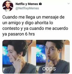 Read 1 4 2 from the story Memes de Riverdale uwu by LylaHernandezZ (☉ sUn ☉) with 932 reads. Riverdale Funny, Riverdale Memes, Riverdale Cast, Funny Spanish Memes, Spanish Humor, Funny Relatable Memes, Clueless 1995, Riverdale Betty And Jughead, Pretty Little Liars