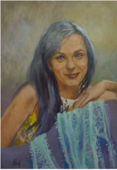 Since a portrait is ultimately a collaboration between this artist and her client, the importance of clear communication is tantamount, therefore Penelope prefers to work directly with you, her. Clear Communication, Portrait Art, Collaboration, Mona Lisa, Artist, Artwork, Painting, Work Of Art, Painting Art