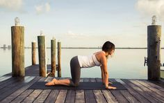 Fire up. http://www.thecoveteur.com/morning-yoga-flow/