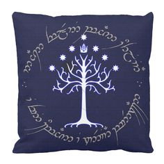 Lord of the Rings Sigil of Aragorn Throw Pillow