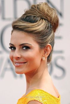 Magnificent fancy hair | Modern Updo Wedding Hairstyle – Maria Menounos Golden Globes 2012 The post fancy hair | Modern Updo Wedding Hairstyle – Maria Menounos Golden Globes 2012… appe ..