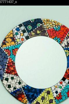Bildergebnis für los espejos no mienten mar del plata Mosaic Tray, Mirror Mosaic, Mirror Art, Mosaic Wall, Mosaic Stepping Stones, Stone Mosaic, Mosaic Glass, Mosaic Crafts, Mosaic Projects
