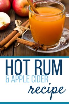Hot Apple Cider (Spiked With Rum Looking for the easiest and tastiest Hot Apple Cider (Spiked with R Hot Apple Cider Spiked, Apple Cider Alcohol, Hot Apple Cider Cocktail, Apple Cider Drink, Mulled Apple Cider, Warm Apple Cider, Cider Cocktails, Alcoholic Apple Cider Recipe, Sweets