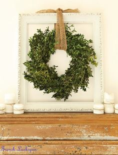 10 Ways to Decorate with Empty Thrift Store Frames Decorating with empty picture frames can be a great way to add a little personality and interest to your decor without spending much money at all. Christmas Holidays, Christmas Wreaths, Christmas Decorations, Xmas, Rustic Christmas, Aisle Decorations, Christmas Houses, Elegant Christmas, Green Christmas