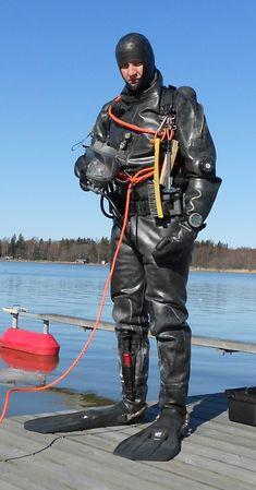 Scuba Diving Suit, Scuba Gear, Underwater Welding, Heavy Rubber, Neoprene Rubber, Hot Boys, Wetsuit, Motorcycle Jacket, Full Face