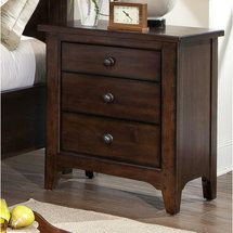 Walmart: Imagio Home by Intercon Justine 3 Drawer Nightstand