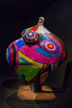 2014/10/10 17h55 Niki de Saint Phalle, «Gwendolyn» (1966-1990) | Exposition Niki de Saint Phalle, Grand Palais (Paris)