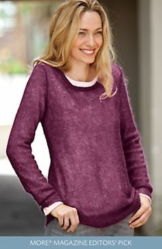 Fig sweater