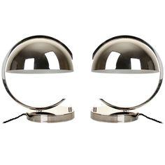 1stdibs.com | Pair of German Bauhaus Table Lamps Art Deco Modernist