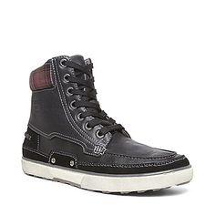 GLANNCE BLACK men's boot casual slip on - Steve Madden