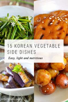 15 Korean vegetable side dishes to go with any meals. Easy to make, light and nu… Sponsored Sponsored 15 Korean vegetable side dishes to go with any meals. Easy to make, light and nutritious, and especially great with BBQ to… Continue Reading → Korean Side Dishes, Healthy Side Dishes, Side Dish Recipes, Veggie Recipes, Vegetarian Recipes, Healthy Recipes, Vegetarian Korean Food, Vegetarian Side Dishes, Chef Recipes