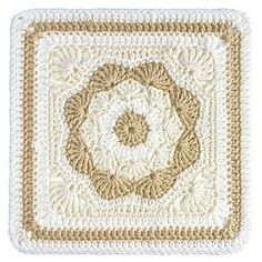 "Harriett Square 12"" by Carolyn Christmas free pattern on Ravelry"