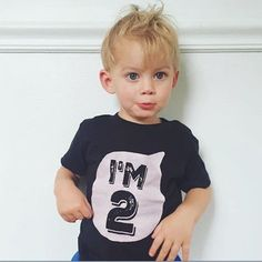 >> Click to Buy << Baby Children Boys Girls Summer Letters Printed T Shirt Cotton Blend T-shirts Cool Kids Boy's Shirts 0-6Y #Affiliate