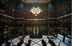 Real Gabinete Português de Leitura - Rio de Janeiro, Brazil