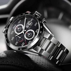 Carrera Calibre 1887 Chronograph by Tag Heuer - http://www.ineedthatshit.com/carrera-calibre-1887-chronograph-tag-heuer/
