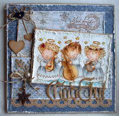 Tina Venke, Stampavie, Christmas Card