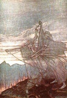 The Norns, by Arthur Rackham.