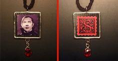 SOLD: Bela Lugosi Dracula Custom Necklace by sharrashina.deviantart.com on @deviantART