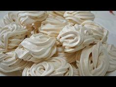 Безе рецепт просто и доступно для всех Пирожное безе Бизе рецепты Выпечка безе Торт безе Печенье - YouTube