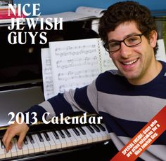 Nice Jewish Guys Calendar Is Not about Gorgeous Hunks wish the shipping wasn't so insane so, I could buy this!!!