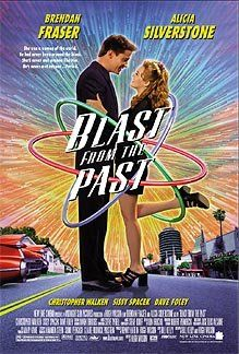 Blast from the Past (1999)  A romantic comedy about a naïve man who comes out into the world after being in nuclear fallout shelter for 35 years.  Brendan Fraser, Alicia Silverstone, Christopher Walken