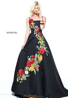 Sherri Hill 50830 dress for your next formal event at The Castle. We are an authorized retailer for all Sherri Hill dresses and every 50830 is brand new with all original tags! Sherri Hill Homecoming Dresses, Prom Dresses 2017, Cheap Prom Dresses, Gown 2017, Dresses Dresses, Couture Dresses, Fashion Dresses, Formal Dresses, Gorgeous Prom Dresses