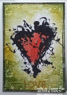 Susanne Rose - Papierkleckse: Artist Trading Cards