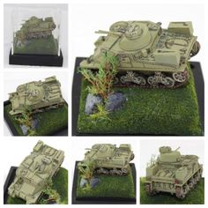 Lee Tank Scale Model Diorama – Inspired by World of Tanks Blitz M3 Lee, World Of Tanks, Scale Models, Diorama, Outdoor Blanket, Inspired, Military, American