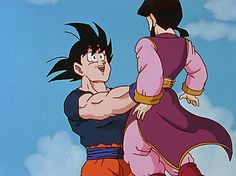 goku chichi ♡ The look in their eyes says it all^^