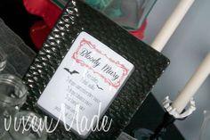 Vampire Halloween Party | CatchMyParty.com