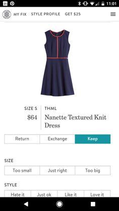 THML Nanette Textured Knit Dress. Try stitch fix today - Fall 2017! https://www.stitchfix.com/referral/9578591?sod=m&som=c
