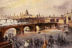 William H. Bartlett - Vista general de Londres