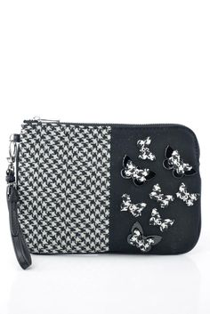 c1917f4554 Fashion Store Multibrand. Pinko Sezione borsa bustina pochette donna  bitessuto nero con applicazioni. - Ronca 1862 srl