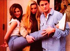 Jennifer Aniston, Lisa Kudrow & Matthew Perry