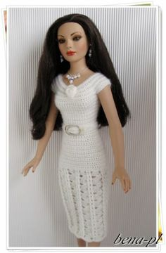 """Bena PL Clothes for Tonner Kitty Collier Miss America 18"""" OOAK Outfit 
