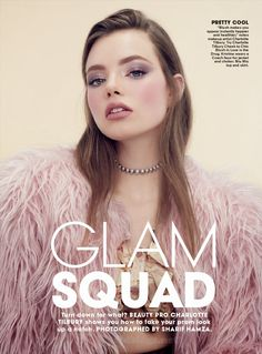 """Glam Squad"" by Sharif Hamza for Teen Vogue April 2015"