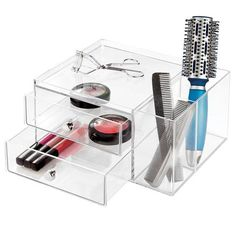 CLARITY Drawers with Side Organiser 2 Drawer