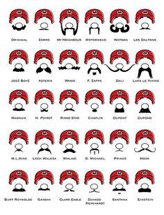 Mario Mustachioed