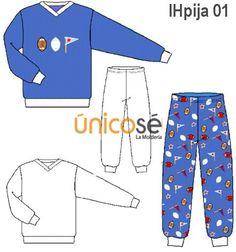 "PIJAMA NIÑO CON CUELLO ""V"". Kids Patterns, Kids Outfits, Pajama Pants, Pajamas, Sewing, Womens Fashion, How To Wear, Clothes, Comics"