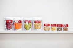 sandvich- A selection of our healthy, organic snacks.