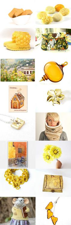 Golden Newies!!  by Vanessa Turnbull on Etsy--Pinned with TreasuryPin.com