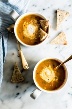 10-Minute Spicy Pumpkin Curry Chowder in a Mug   Healthy Nibbles & Bits