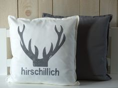 Cushions Cushions with antlers and deer print a designer piece by scho Diy Pillows, Cushions, Throw Pillows, Shabby Chic Homes, Shabby Chic Style, Silhouette Cameo Freebies, Deer Print, Photoshop Elements, Antlers