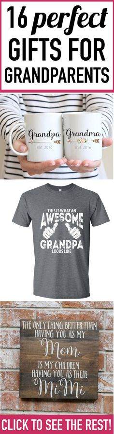Adult parents and grandparents can be SO HARD to find gifts for! But this list of gift ideas for grandparents and parents is full of awesome ideas that will make it easy to find the perfect gift for your grandparents or parents.